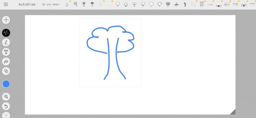 Autodraw, tool di machine learning