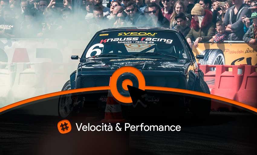 Performance di un sito web