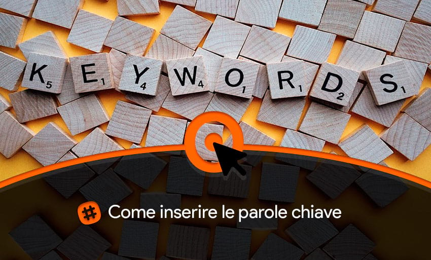 Come mettere le parole chiave nel sito web