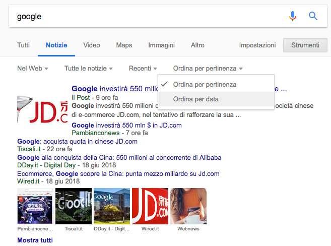 Cos'è Google News
