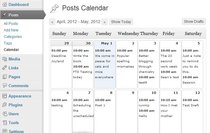 editorial calendar storytelling