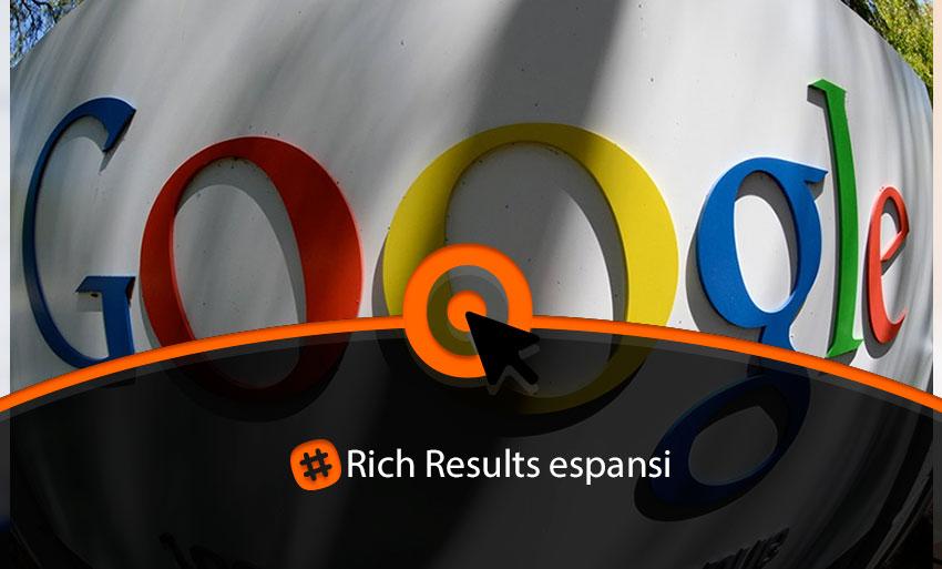 Rich results espansi