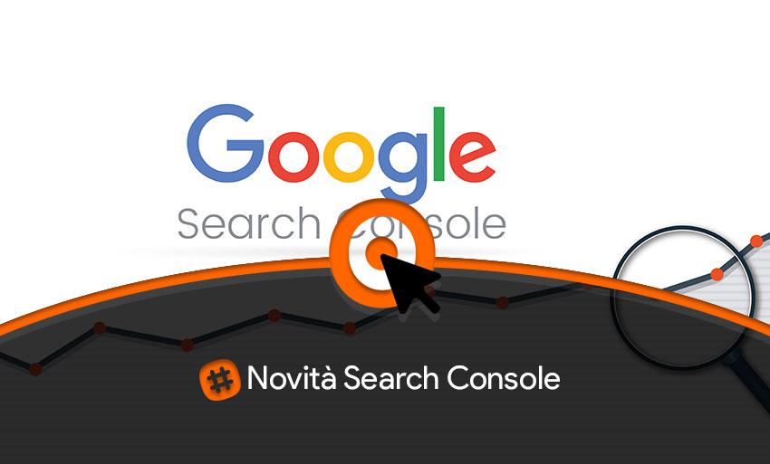 novità search console