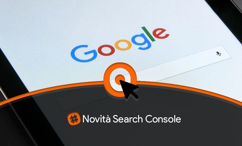 news search console