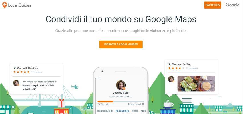 Come diventare Local Guide di Google Maps
